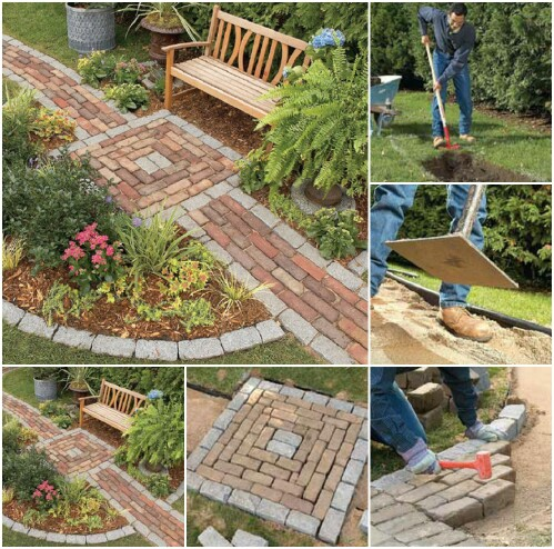 1. Build a Brick Path