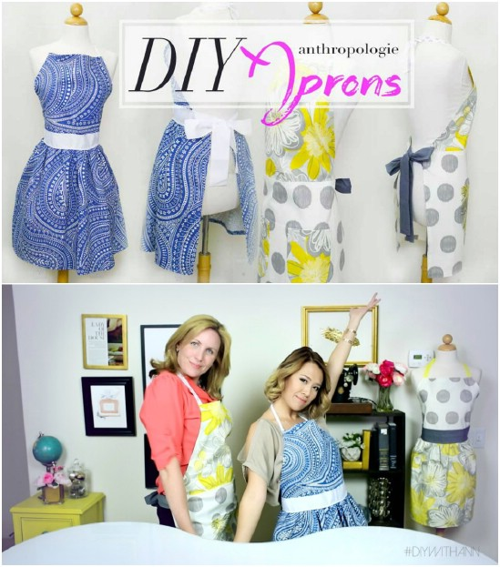Fashionable Pearls And Pumps Apron