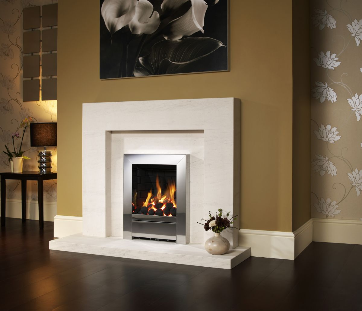 Simple marble surround