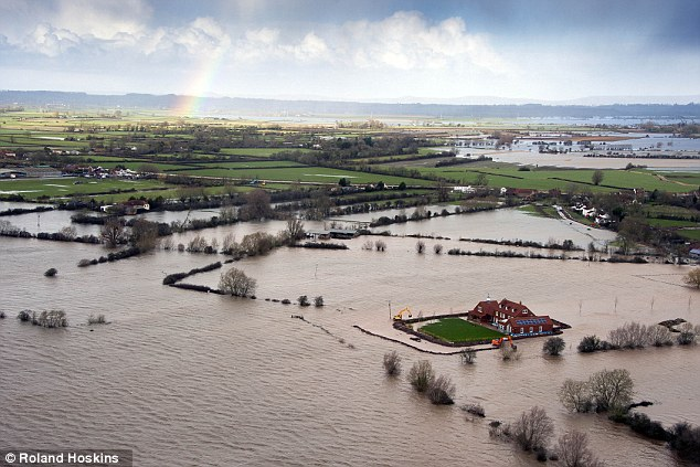 Earlier this year vast areas of the Somerset Levels were left underwater by torrential rain and floods