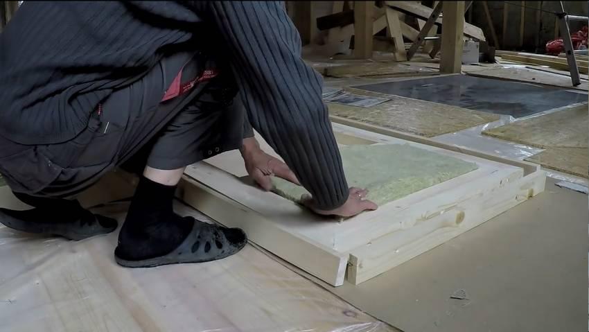 Как сделать деревянную входную дверь своими руками.