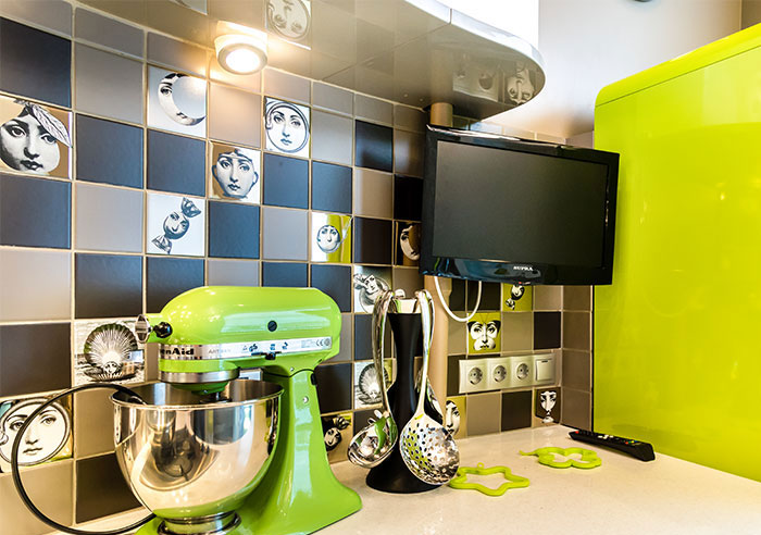 Household equipment should be selected based on the overall concept of the kitchen