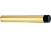 Zoo Hardware Cylinder Door Stop Without Rose (105mm), Polished Brass - ZAB12