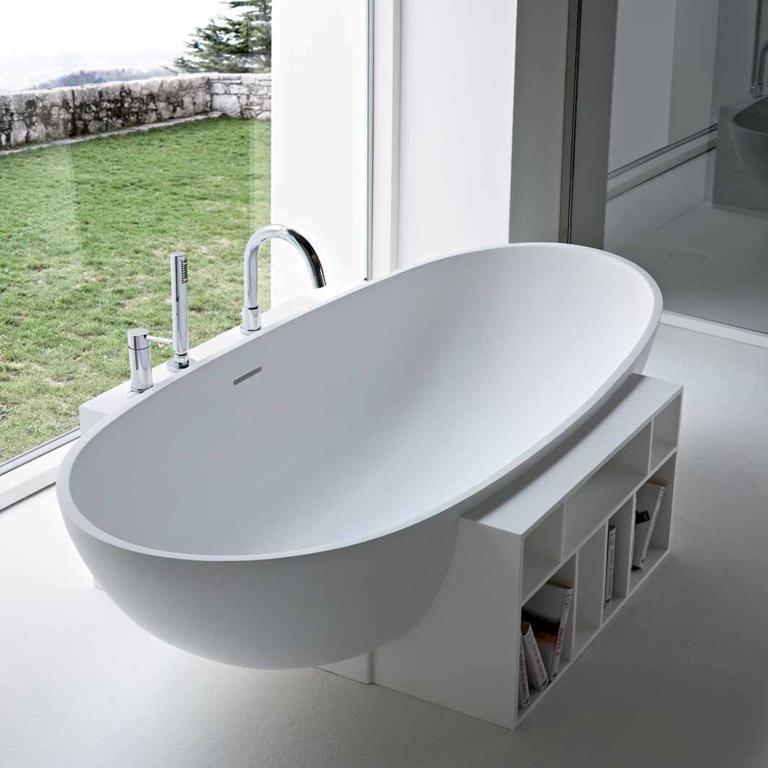 Bathroom Furniture Arrangements - Egg Bathtub